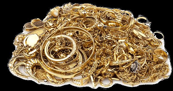 scrap gold cutout